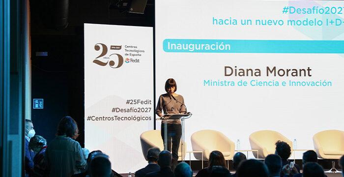 Ministra de Ciencia Diana Morant