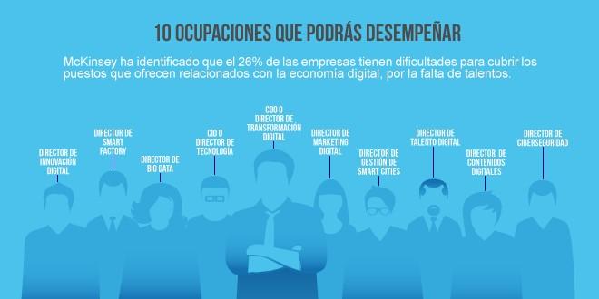 10 ocupaciones