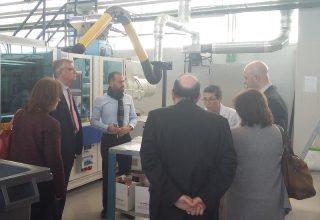 Una delegación de ICEX visita el Centro Tecnológico Fedit AIMPLAS en Valencia