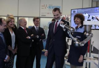 El Centro Tecnológico Aimen recibe la visita del Rey Felipe VI por su 50 Aniversario