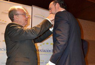 La Asociación Europea de Economía y Competitividad concede al CTCR la Medalla de Oro al Mérito en el Trabajo